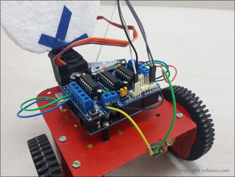 Creating An Obstacle Avoiding Robot With Arduino Adafruit